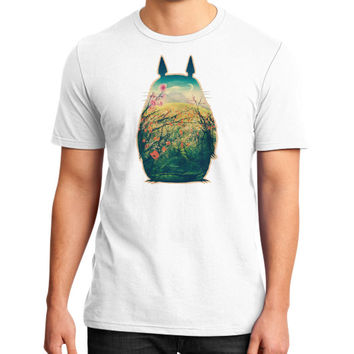 Tonari No Totoro District T-Shirt (on man)