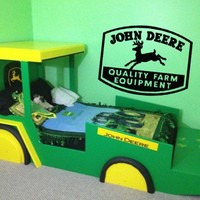 John Deere Vinyl Wall Sticker Decal Lettering