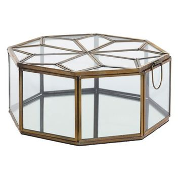 Accent Decor Dynasty Glass Jewelry Box | Nordstrom