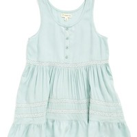 Girl's Tucker + Tate Sleeveless Ruffle Top,