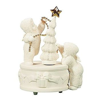 Snowbabies O Christmas Tree Music Box 2001