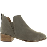 Seychelles Offstage - Taupe Suede Dual Gore Pull-On Bootie