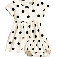 H&M Jersey Dress with Puff Pants $12.95