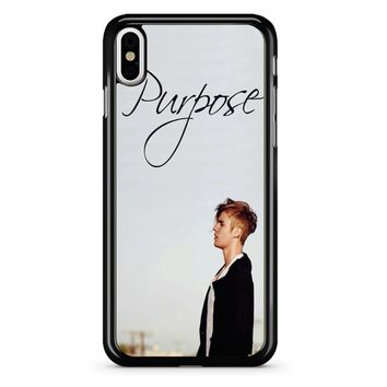 Purpose Justin Bieber iPhone X Case