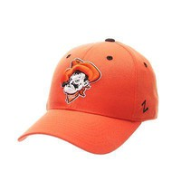 Licensed Oklahoma State Cowboys NCAA DHS Size 7 1/4 Fitted Hat Cap by Zephyr 563434 KO_19_1