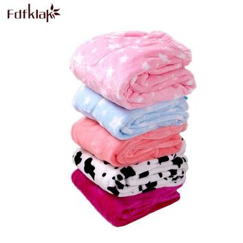 Women's Winter New Flannel Pants For Home Cotton Pajama Bottoms