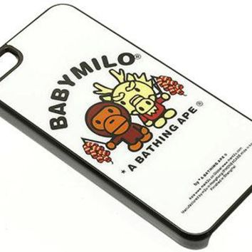Phone Accessory Iphone 5 Cover Baby Milo Animal Monkey