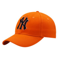 NY Fashion  New Embroidery Letter Sun Protection Travel Cap Hat Orange
