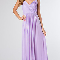 Floor Length Sleeveless Dress