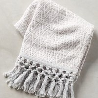 Yarn-Dyed Malvina Hand Towel by Anthropologie