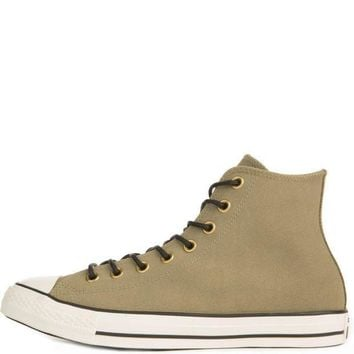 CREYUG7 Converse for Men Chuck Taylor All Star Crafted Khaki Suede High Tops