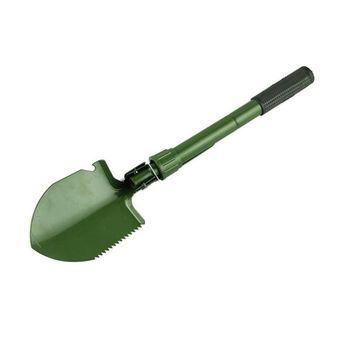 Hot Sell Military Folding Shovel Exploration Survival Spade Emergency Camping Outdoor Tool with Bag