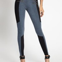 Dalyssa Zipper-Detail Leggings