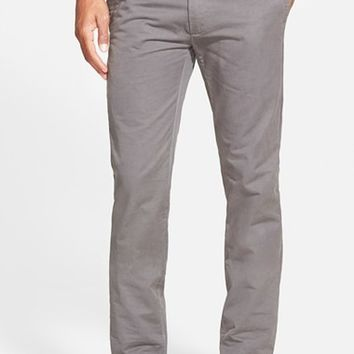 Men's Grayers 'Newport' Slim Fit Washed Cotton Twill Chinos,