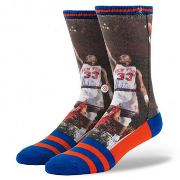 Stance NBA Legends Socks Patrick Ewing Knicks