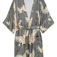 Patterned Kimono - from H&M