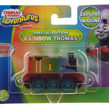 Thomas & Friends Adventures Special Edition Rainbow Metal Train Engine Lot of 3