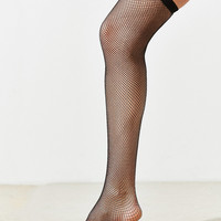 Out From Under Seamless Fishnet Thigh High Sock | Urban Outfitters