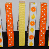 Magnet Gift Set - Clothespin Magnets - Clothespin Photo Hanger - Set of 6