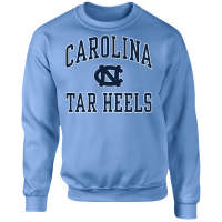 UNC Student Stores - North Carolina Tar Heels Crew Neck Sweatshirt - Carolina Blue