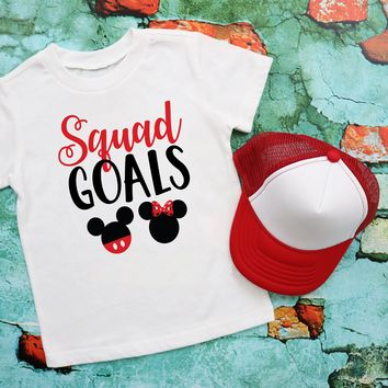 Squad Goals Disney Kids Graphic Tee