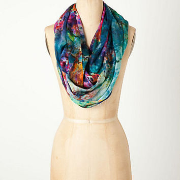 Water Lily Infinity Scarf