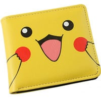 Japanese Anime Purse Pokemon Pikachu Wallet Pouch Portefeuille Homme Woman Wallet and Men Wallets Free Shipping