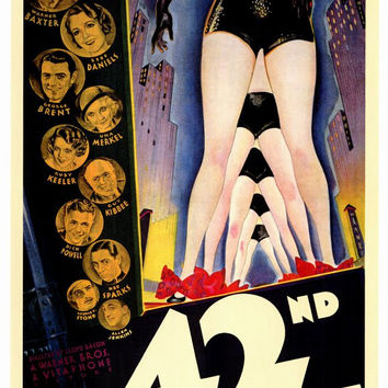 42nd Street 27x40 Movie Poster (1933)
