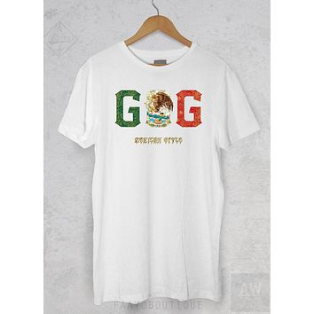 Gennady Golovkin GGG Boxing Mexican Style Boxer T Shirt