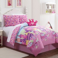 Victoria Classics Princess Reversible Bed Set (Pink)