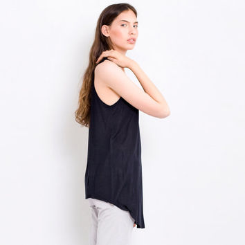 Basic Black Summer Toose Tank Top