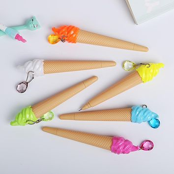 Cute Small Fresh Candy Color Ice Cream Gel Pen