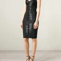 Dolce & Gabbana Strappy Corset Dress - Profile - Farfetch.com