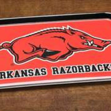 Arkansas Razorbacks 12x18 Decorative Melamine Tray