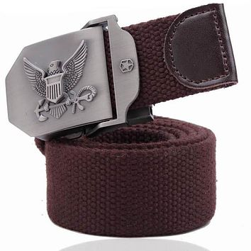 New 2019 Free Shipping Outdoor Men's Belt Excellent Design Fashion Military Style Belt