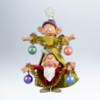 Disney - A Very Merry Christmas Tree - 2012 Hallmark Ornament