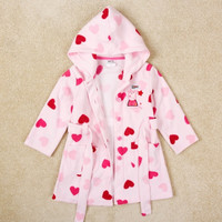 children peppa pig embroidery robe = 1930329860