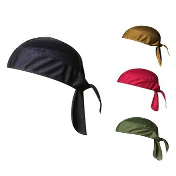 Quick Dry Cycling Cap Head Scarf Summer Cooling Men Running Riding Bandana Headscarf Ciclismo Pirate Hat Hood Headband