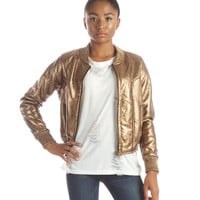 Copper Dream Bomber Jacket