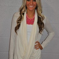 Swept Away Sweater IVORY