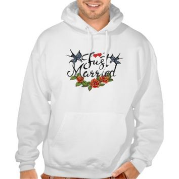 Just married -tattoo sweatshirt from Zazzle.com