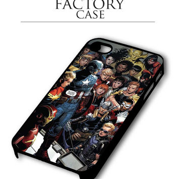 marvel cartoon iPhone 4, iPhone 4s, iPhone 5, iPhone 5s, iPhone 6, iPhone 6+,iPod 4, iPod 5 case