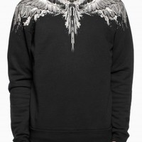 Alas agua sweatshirts from the F/W2014-15 Marcelo Burlon County of Milan collection in black.