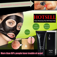 BLACK MUD FACE MASK BLACKHEAD REMOVER DEEP CLEANSING PEEL ACNE THERAPY