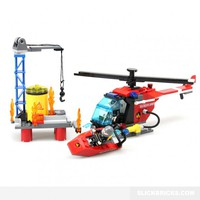 Fire Hazard Team - Lego Compatible Set