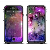 The Warped Neon Color-Splosion Apple iPhone 6 LifeProof Fre Case Skin Set