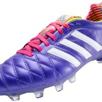 adidas 11pro TRX FG Soccer Cleats - Blast Purple with Vivid Berry - SoccerMaster.com
