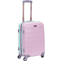 "Rockland Luggage Melbourne 20"" Expandable ABS Carry-On - eBags.com"