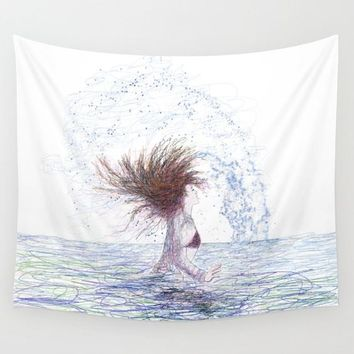 Feeling the Energy of the Sea by Lena Owens/OLenaArt