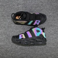PEAPNT Nike Air More Uptempo AIR All Black 3M Sneaker 922845-001
